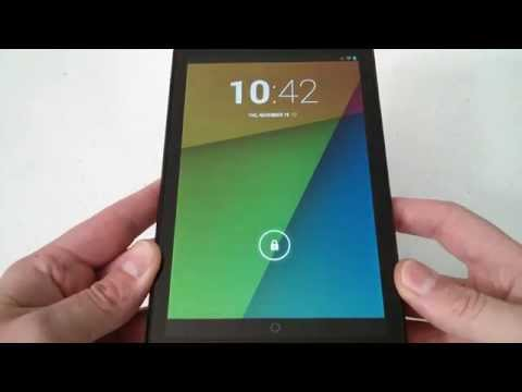 How To Soft Reset or Reboot Android Nexus 7