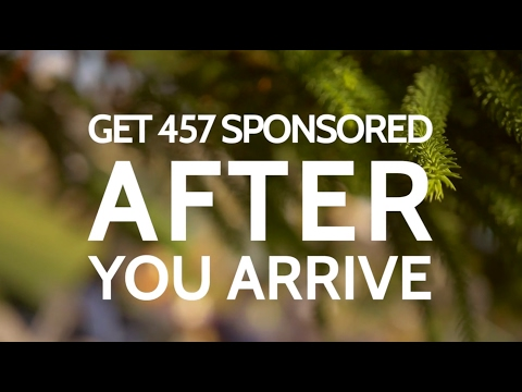 needu - Apply For a 457 Sponsorship Visa AFTER You Arrive in Australia