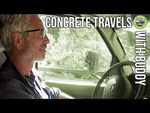 Concrete Travels With Buddy - Episode 1 - On The Way to the Mendo Mini