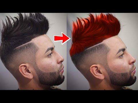 PicsArt How To Changing Hair Color Picsart Editing Tutorial