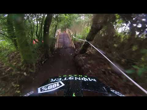 Sam Hill helmet cam - stage 2, Colombia EWS