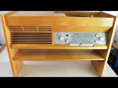 Braun (1957) - Music Console Repair
