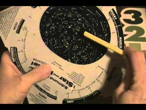 Using a Star Wheel Planesphere 3 - Locations in the Sky