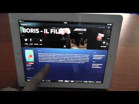 SkyGo per Apple iPad - videorecensione