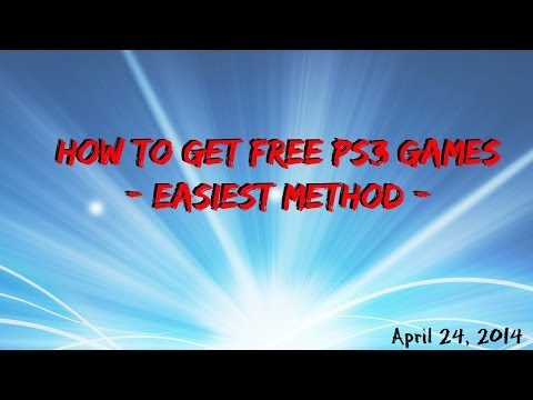 {PS3}How To Get Free PS3 Games. [Patched]
