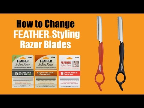 How to Change Feather Styling Razor Blades