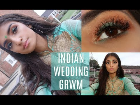 INDIAN WEDDING GET READY WITH ME 2017 | KIM MANN