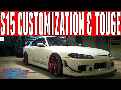 Need For Speed 2015 Touge Drifting : NISSAN SILVIA S15 CUSTOMIZATION & TOUGE DRIFTING