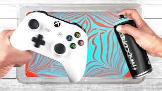 Customize your XBOX ONE S Controller with Hydro Dipping