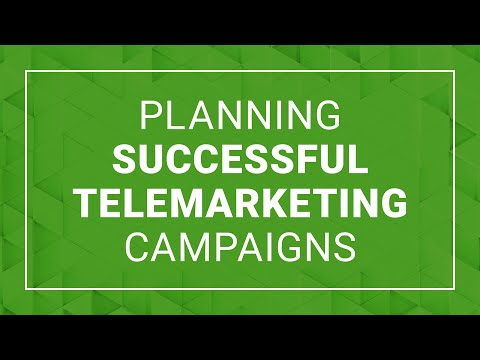 Planning Successful Telemarketing Campaigns   Cold Call Scripts