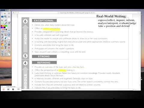Expository Writing Rubric.mov