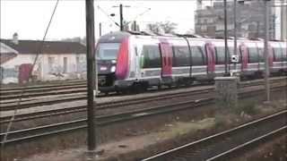 Armada de trains en gare de Pantin (93)