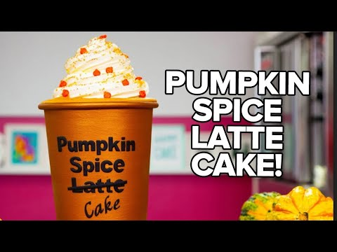 How To Make A PUMPKIN SPICE LATTE CAKE With COFFEE BUTTERCREAM | Yolanda Gampp | How To Cake It