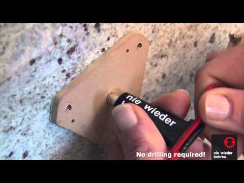 no drilling required Grab Bar installation - How to Install