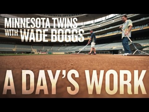 Minnesota Twins with Wade Boggs - A Day's Work