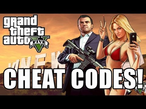 GTA 5 Cheat Code Full List - PS3 and Xbox 360 (GTA V Cheats) by Whiteboy7thst