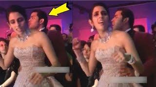 Akash Ambani & Shloka Mehta ROMANTIC Dance At Their Pre WEDDING Celebration