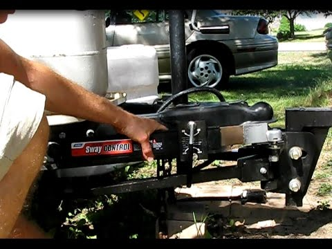 How to install a sway control on a trailer
