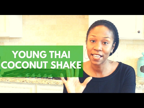 Thai Coconut Smoothie Recipe - How To Use and Open A Thai Coconut
