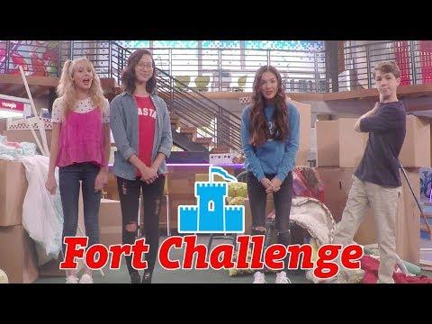 Fort Challenge ⛺️ | Bizaardvark | Disney Channel