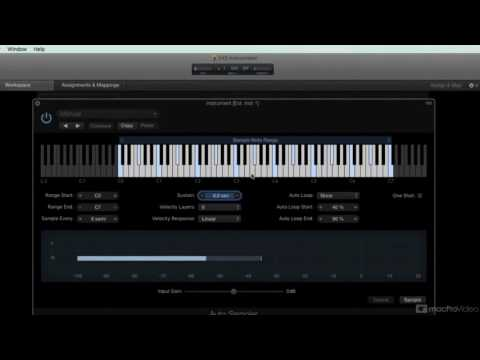 Logic Pro FastTrack 304: Auto Sampling with MainStage - 1. What is Autosampler