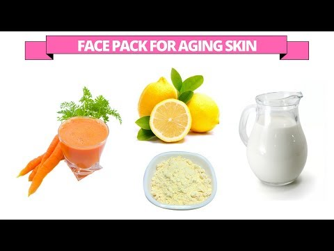 Homemade carrot face pack and mask for the aging skin