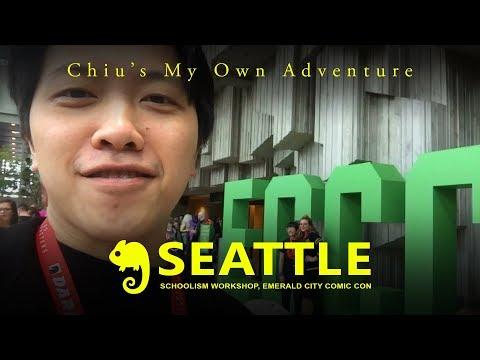 Vlog Seattle: Schoolism Workshop and Emerald City Comic Con