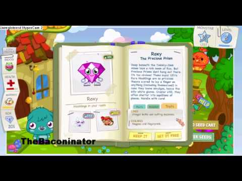 NotACCityFolk~ MoshiMonsters-Capturing Roxy
