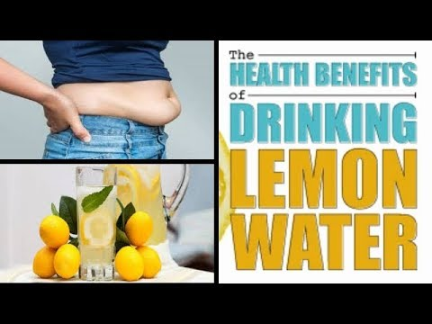 How To Lose Weight Fast: The Health Benefits Of Drinking Lemon Water