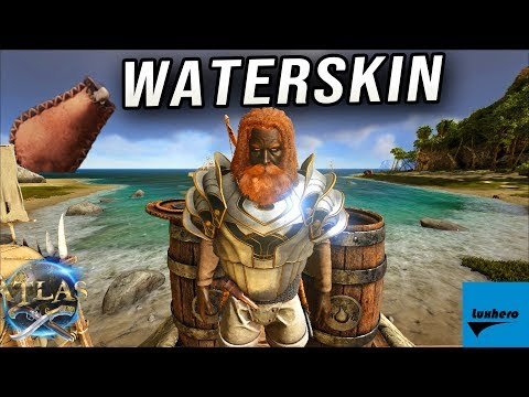 Atlas - How to Craft & Use Waterskin
