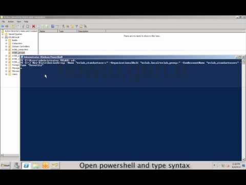 How to create security group with New-DistributionGroup powershell