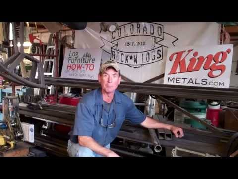 Do-It-Yourself Furniture Kits by Colorado Rock*N Logs and Mitchell Dillman
