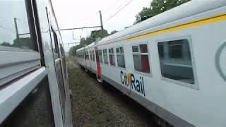 Belgien Linie 130A Charleroi Erquelinnes Jeumont