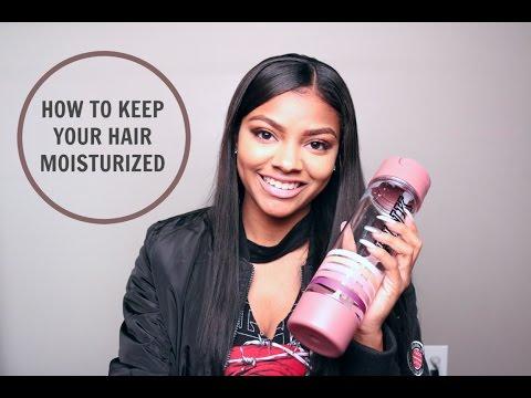 How To Keep Your Hair Moisturized