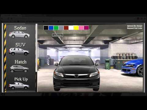 Online Car Customization