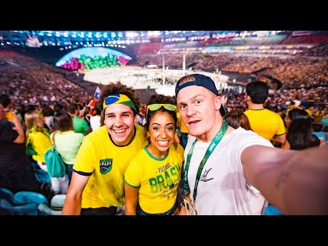 RIO OLYMPIC OPENING CEREMONY!!