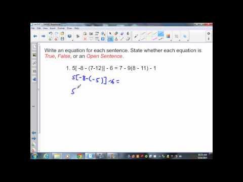 sec2 4 Pre Algebra Variables and Equations