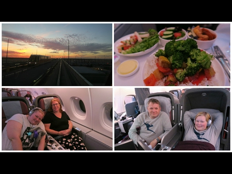 USA Trip : Day 29 - Flying home in Business Class