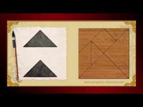 Tangram Two triangles