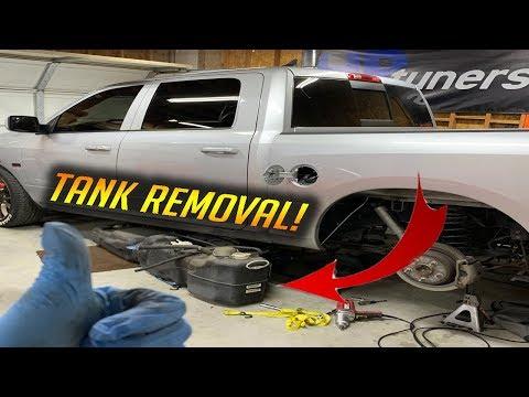 RAM 1500 Gas Tank REMOVAL - DIY -  2009-2018