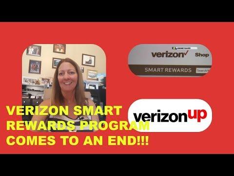 VERIZON REWARDS PROGRAM COMES TO AN END AS VERIZON UP BEGINS!!!