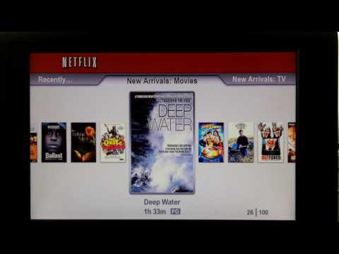 netflix on the ps3 and xbox 360 part 1