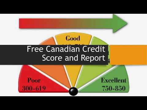 How to get Canadian Credit Score - Absolutely Free (No Gimmick)
