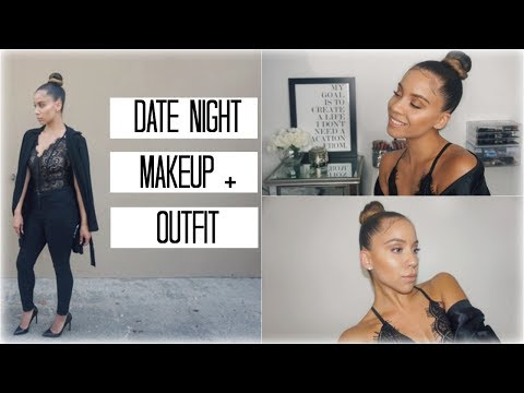 QUICK & EASY DATE NIGHT MAKEUP + OUTFIT