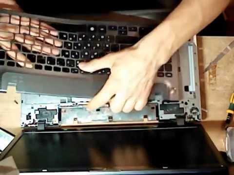 samsung np 355 v5c замена клавиатуры