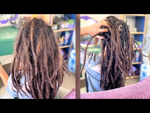 How to Grow Dreads with Straight Hair Faster.