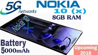 Nokia 10 Specification;5G with Under display Fingerprint scanner