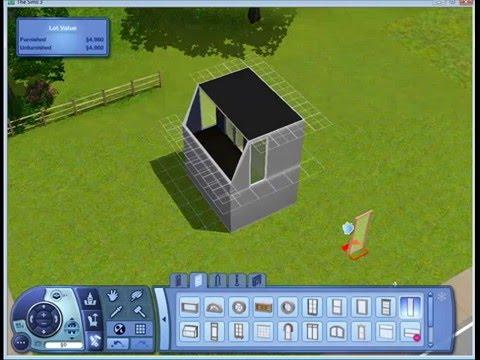 Balcony mini tiptorial - Sims 3