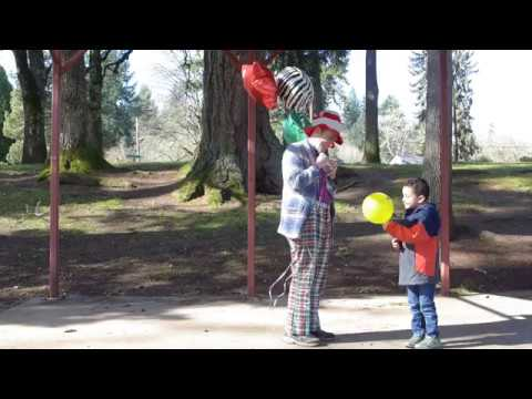 Mean Clown Raw Footage