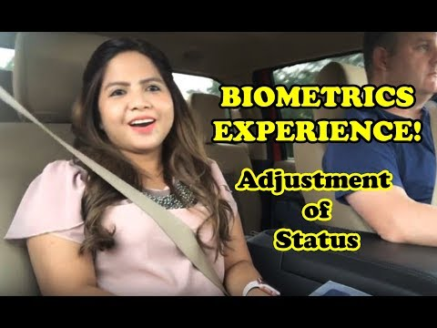 ADJUSTMENT OF STATUS UPDATE | Biometrics Appointment and Tips!